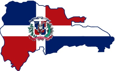 mapa banderaRepDominicana
